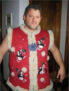 Yes, it's that time of year when your favorite NASCAR drivers trade in the fire suits for their beloved ugly Christmas sweaters. Take a gander at these funny pi Bad Christmas Sweaters, Ugly Holiday Sweater, Ugly Sweater Party, Christmas Jumpers, Christmas Humor, Funny Christmas Pictures, Christmas Christmas, Christmas Ideas, Tony Stewart