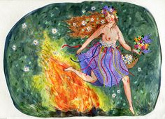 -- PHOEBE WAHL --: Blessed Beltane // Happy May Day!!!