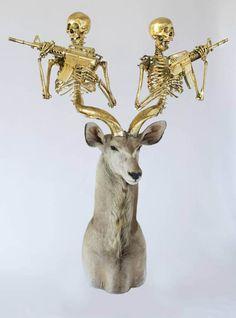 Les trophées de chasse de Peter Gronquist