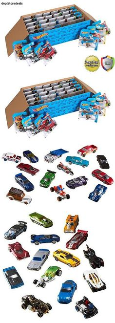 Toys And Games: Hot Wheels Basic Car 50-Pack Set Lot Toy Vintage Kids Collectors Small Vehicles -> BUY IT NOW ONLY: $64.99 on eBay!