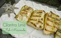 Easy fish marinade t