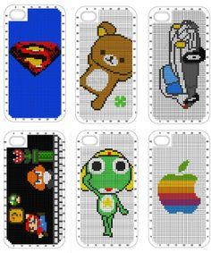 Personaliza tu funda de iPhone con punto de cruz - Monkeyzen