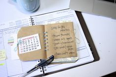 30 days of lists. Steph has a book about lists I think. My Calendar, Album Book, Scrapbook Journal, All Paper, Craft Tutorials, Craft Ideas, Homemade Crafts, Smash Book, Paper Clip