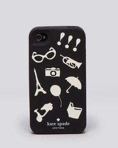 kate spade new york iPhone 4 Case - Favorite Things | Bloomingdale's