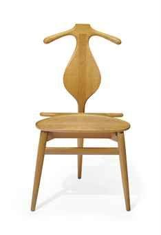Hans Wegner, An Oak 'Valet' Chair, Designed 1953
