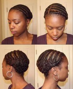 Flat Twist Pincurls - Her Best Hair