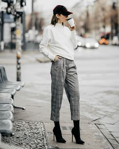 Zalando Style of the Day   Masha Sedgwick   Street Style   Fashion   brands: Topshop, Ivy Revel, Vans, Selected Femme, The Kooples, Holzweiler   Berlin   Street Wear   daily, casual, effortless, easy, sexy, sporty, office, chic, tomboy, relaxed, cool   weekly update   2018