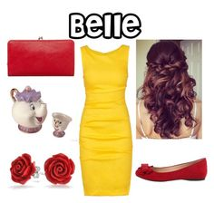 """""""Belle"""" by mau-stacey ❤ liked on Polyvore"""