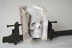 libros tallados