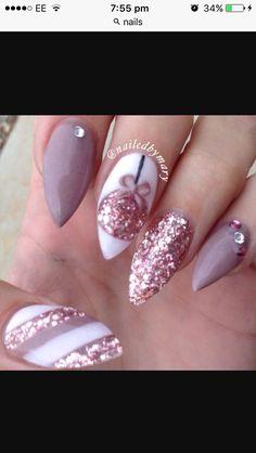 Christmas nails x