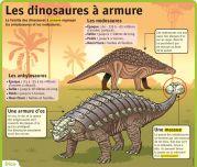 Les dinosaures à armure - Le Petit Quotidien, le seul site d'information quotidienne pour les 6 - 10 ans !