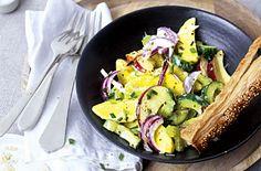 Der ultimative Kartoffelsalat. Perfekt.