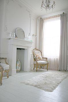 Romantic, French style interior