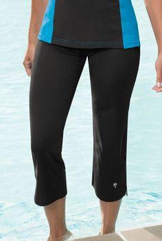 HydroChic™ Plus Size Ruffle Swim Skirt | Seasons of Swim ...
