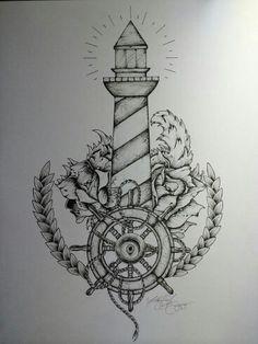 #lighthouse #tatoo