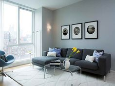 what colours go with a slate grey sofa - Google Search