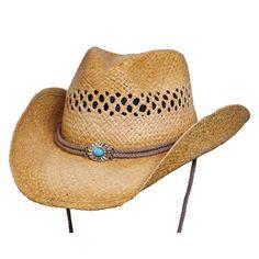 Big Sky Western Shapeable Summer Straw Hat