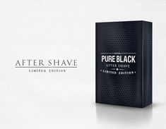 After shave packaging packaging design