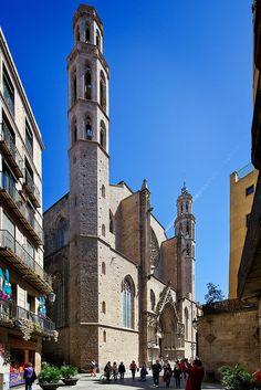 Basílica Santa Maria del Mar, Barcelona Catalonia