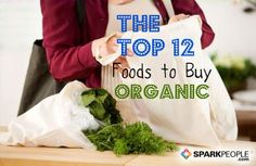 The Top 12 Foods to Buy Organic--good to know!!