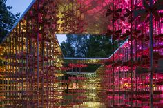 "ArchTriumph Present the ""Energy Pavilion"" Now Open at Museum Gardens,Courtesy of Sergio Grazia and Luc Boegly"