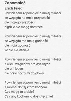 Erich Fried - Zapomnieć