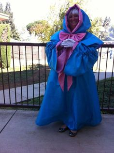 this would be so cute for Halloween, especially if you had a little girl to dress like Cinderella. Fairy Godmother Cinderella Costume Adult Plus Size by Bbeauty79