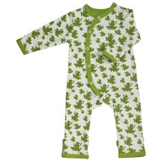 Unisex Green Baby Clothes - Organic Baby Clothing