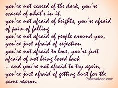 you're not scared of the dark... - PositiveMed (scroll down on site for info)