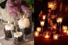 Confira 7 sugestões de arranjos diferentes e criativos para enfeitar as mesas dos convidados na festa de casamento.