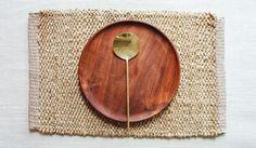 Braided Hemp Placemat: Rectangle Vintage Lamps, Vintage Decor, Small Furniture, Furniture Stores, Interior Decorating, Interior Design, Decorating Ideas, Mid Century Decor, Mild Soap