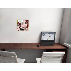 LICHTENSTEIN - Ohhh? Alright? 1964 #artprints #interior #design #art #print #iloveart #followart #artist #fineart #artwit  Scopri Descrizione e Prezzo http://www.artopweb.com/autori/roy-lichtenstein/EC18463
