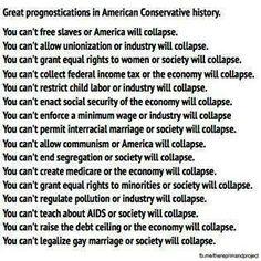 Conservative mess