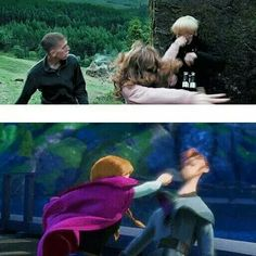 Harry Potter   Frozen - girls punching boys should also include Bella punching Jacob