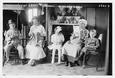 At Broad Channel - a Family Group  (LOC)