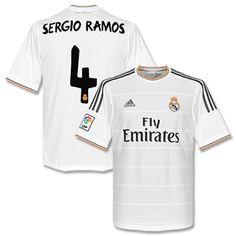 Adidas Real Madrid Home Shirt 2013 2014   Sergio Ramos 4 Real Madrid Home Shirt 2013 2014   Sergio Ramos 4 http://www.comparestoreprices.co.uk/football-shirts/adidas-real-madrid-home-shirt-2013-2014- -sergio-ramos-4.asp