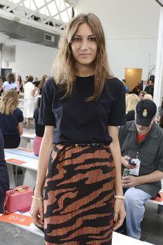 Giorgia Tordini Photos - Tanya Taylor - Front Row - Mercedes-Benz Fashion Week Spring 2015 - Zimbio