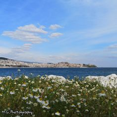 Seasons In The Sun, Blue City, Spring Is Here, City Life, Greece, Clouds, Sky, Mountains, Beach