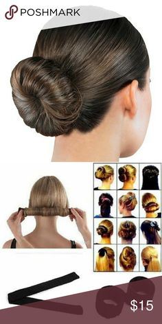 Shop Women's size OS Hair Accessories at a discounted price at Poshmark. Description: Create the Perfect Bun New :). Sold by Fast delivery, full service customer support. Hair Bun Tool, Hair Tools, Bun Hair Piece, Hair Pieces, Perfect Bun, Fast Hairstyles, Fashion Hair, Fashion Tips, Fashion Design
