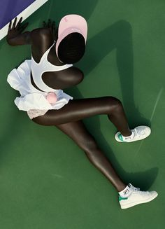 "stormtrooperfashion:  Ataui Deng in ""6-0"" by Julia Noni for Fat Man Magazine, Spring/Summer 2014"