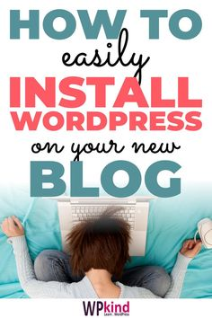 How to install WordPress on your self-hosted hosting account with pictures using the Softaculous script installer that comes with many hosting accounts. News Blog, Blog Tips, Make Blog, How To Start A Blog, Make Money Blogging, Make Money Online, Wordpress Admin, Learn Wordpress, Content Marketing