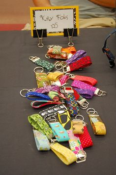 Key Fobs from lizziebees by lianne_nichols, via Flickr