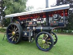 Steam tractor in the UK