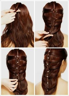 Marvelous Step By Step Hairstyles Beach Braids And Step By Step On Pinterest Short Hairstyles Gunalazisus