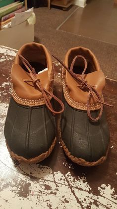 e5dc3137d613 Men s Soggs Size 7 Rubber Thinsulate Steel Shank Brown Leather Duck Shoes  fo346t  fashion  clothing  shoes  accessories  mensshoes  boots (ebay link)