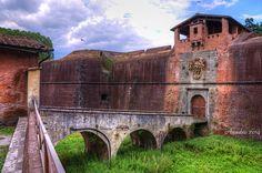 Fortezza Santa Barbara  -  PISTOIA   #TuscanyAgriturismoGiratola