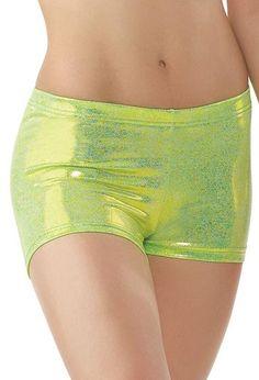 Metallic Dance Shorts - Balera