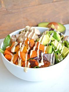 3. Chicken Balance Bowl #whole30 #recipes…