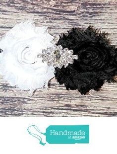 Black and White Rhinestone Lace Headband from Chandra's Bowtique https://www.amazon.com/dp/B01IEDV81O/ref=hnd_sw_r_pi_dp_npWHxbNDHMBV8 #handmadeatamazon
