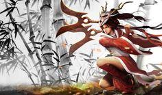 Akali Bloodmoon Chinese